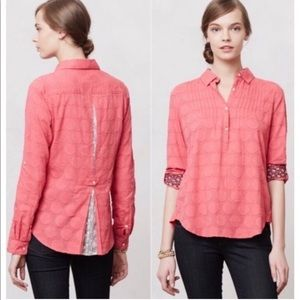 ANTHROPOLOGIE Isabella Sinclair lace back henley